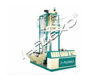 Monolayer Blown Film Extrusion Machine Manufacturer, Supplier & Exporter in Bareilly, Uttar Pradesh