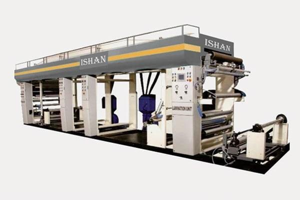 Solvent Base Lamination Machine Manufacturer, Supplier in Surat, Gujarat